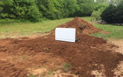 Storm Shelter LS10 Installed in Rockvale, TN